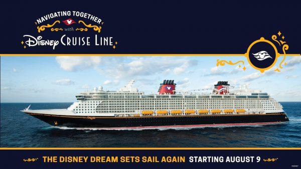 Disney Cruise Line to Resume
