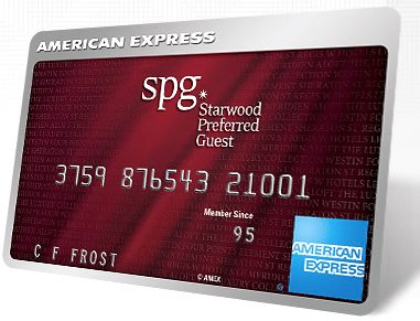 American Express Starwood Preferred Guest Card Review