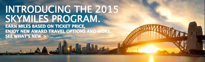 Delta Overhauls Their SkyMiles Award Program!