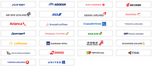Star Alliance Partners