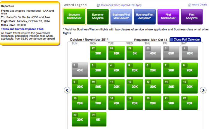 Fly all the way from Los Angeles to Paris for only 20k points!