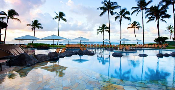 Enjoyed my recent stay at the Sheraton Kauai Resort for only 12,000 points per night!