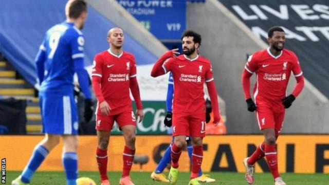 Mohamed Salah says Liverpool will fight like champions to the end