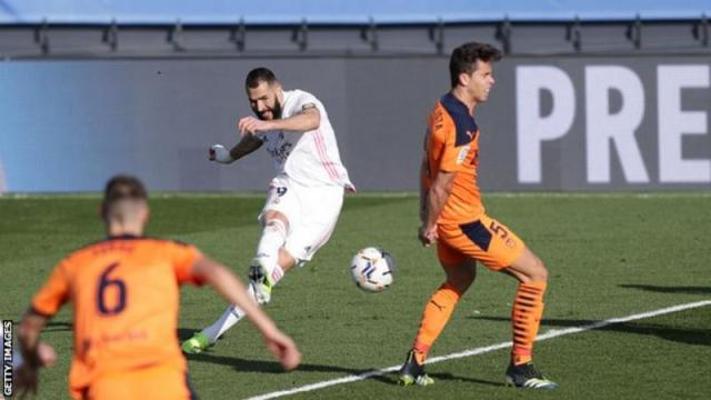 Real win to move up to second in LaLiga