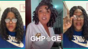 Wife of Afia Schwar's alleged Canadian based sugar daddy storms Ghana to face her