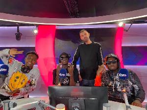 Amerado shuts down Tim Westwood show, Yaw Tog, Kweku Flick told to up their game
