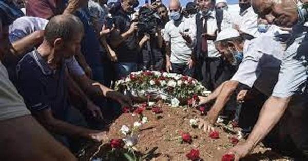 Algeria buries ex-president Abdelaziz Bouteflika in muted funeral