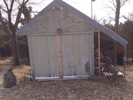 D. Wood Shed - North Side