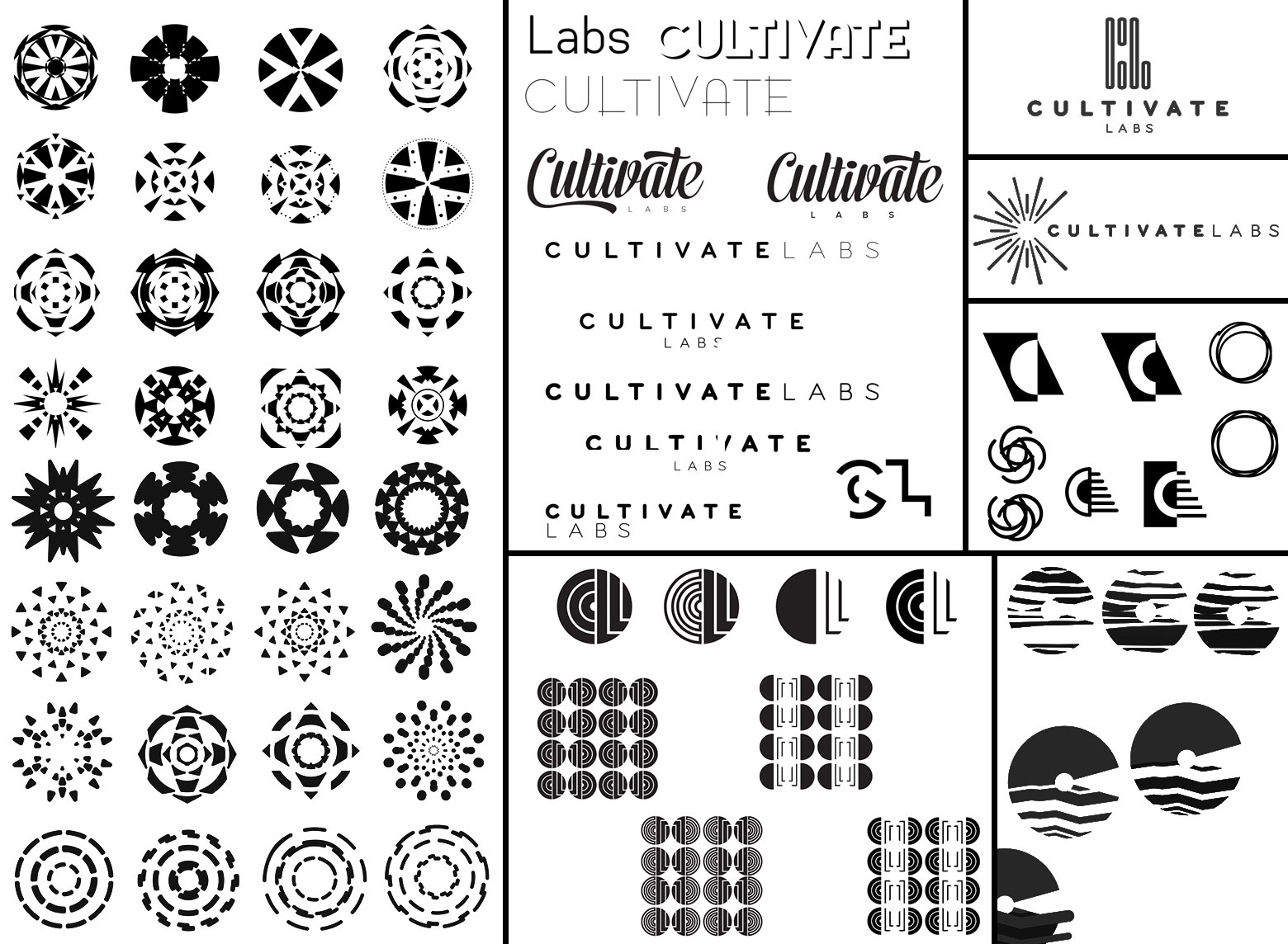 Logo is a four letter word: Branding Cultivate Labs