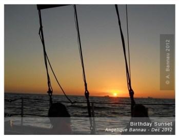 My Birthday Sunset