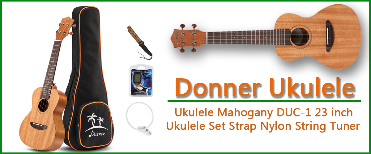 Donner Concert Ukulele Is The Best Beginner Ukulele Read Reviews