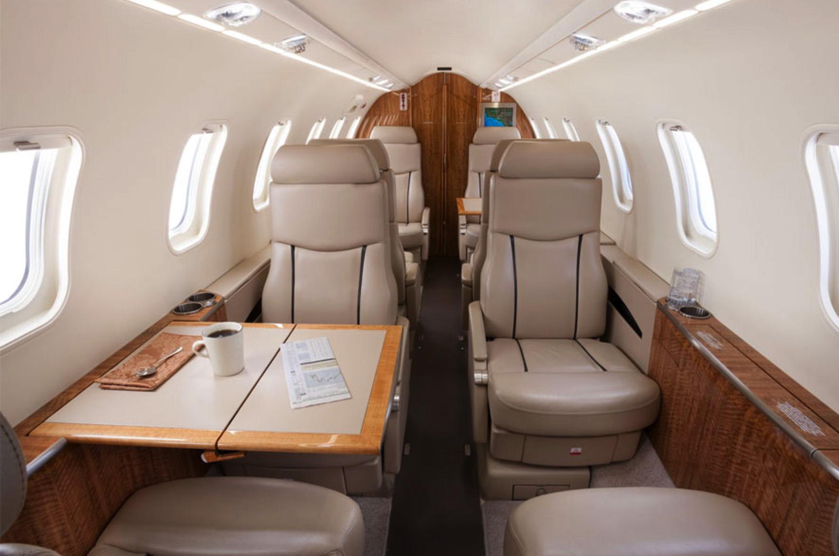 Learjet 45 Interior