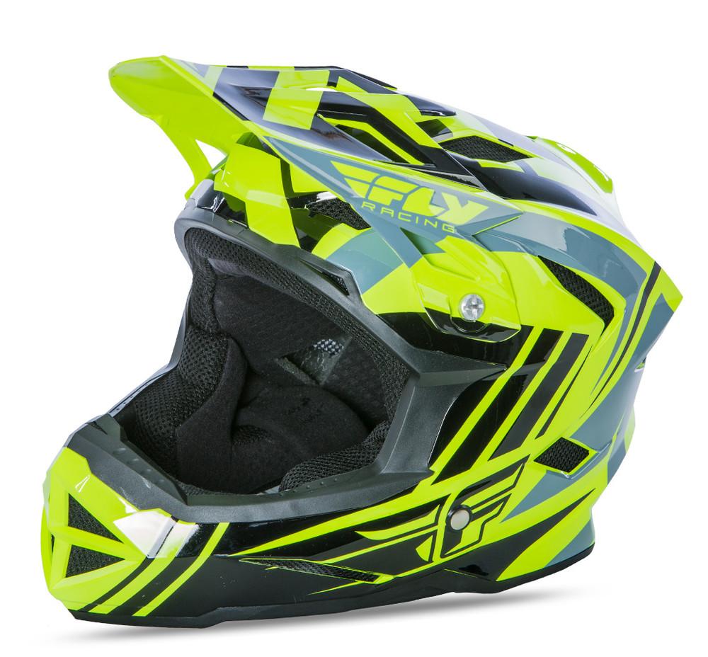 Default -vis Black Helmet Fly Racing Motocross Mtb