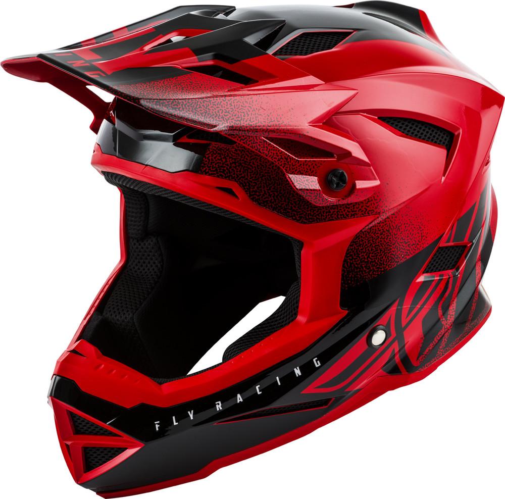 Default Red Black Helmet Fly Racing Motocross Mtb
