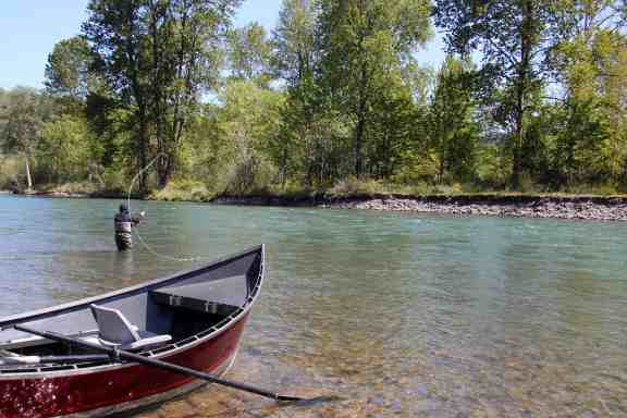 Fishing from a Driftboat