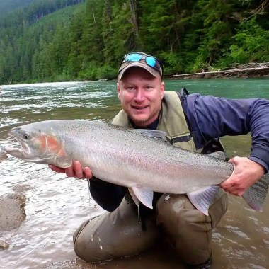 WHAT WEIGHT FLY ROD TO USE FOR STEELHEAD