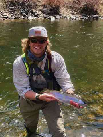 Fly fishing with split shot - Provo river Bounce rig - John Booth