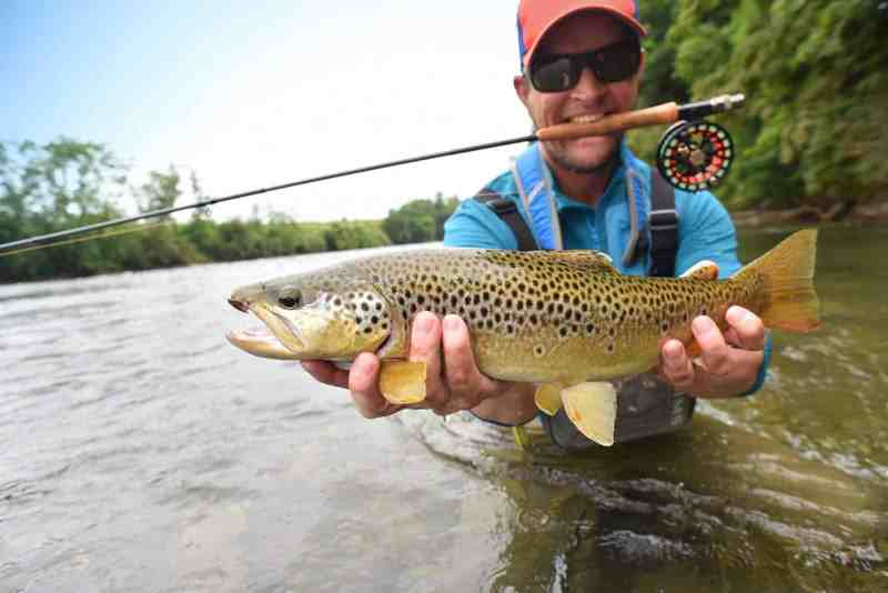 Where did fly fishing originate?