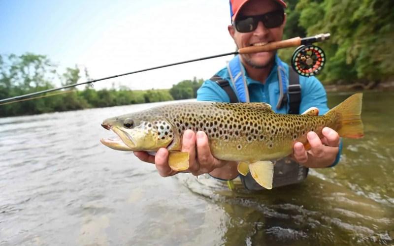 Where did fly fishing originate?