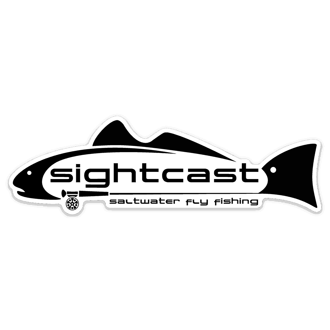 Sight Cast Fishing Company Fly Fishing Redfish Sticker