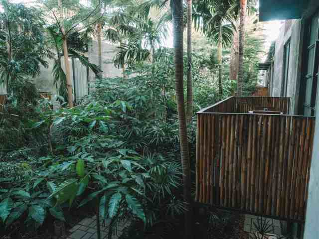 Where to stay in Bali? Bisma Eight hotel is one of the best hotels in Bali offering an incredible eco-luxe, minimalist, boutique hotel experience. Set in the lush Balinese jungle, on the outskirts of Ubud, this is one of our top places to stay in Bali.