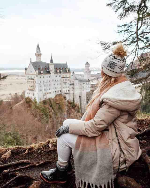 Neuschwanstein Castle views in Fussen, Germany