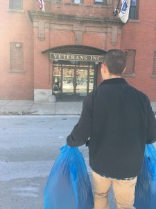 Donating Clothing to Homeless Veterans