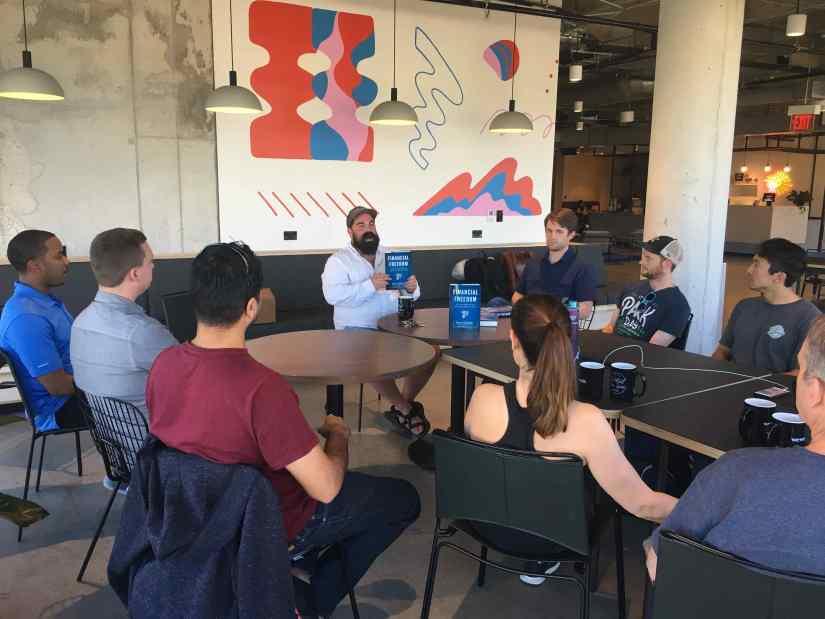 Financial Freedom Book Tour Austin Meetup