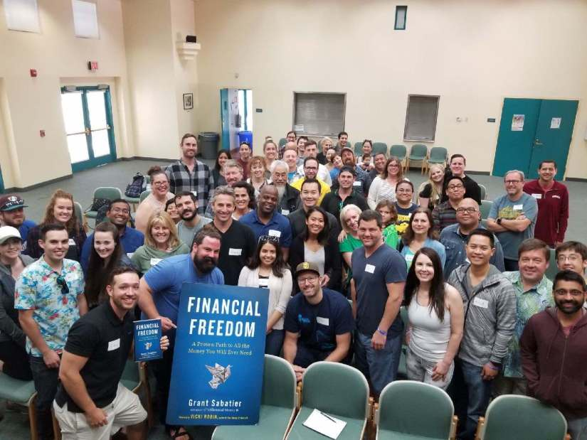 Financial Freedom Book Tour Scripps Ranch Library