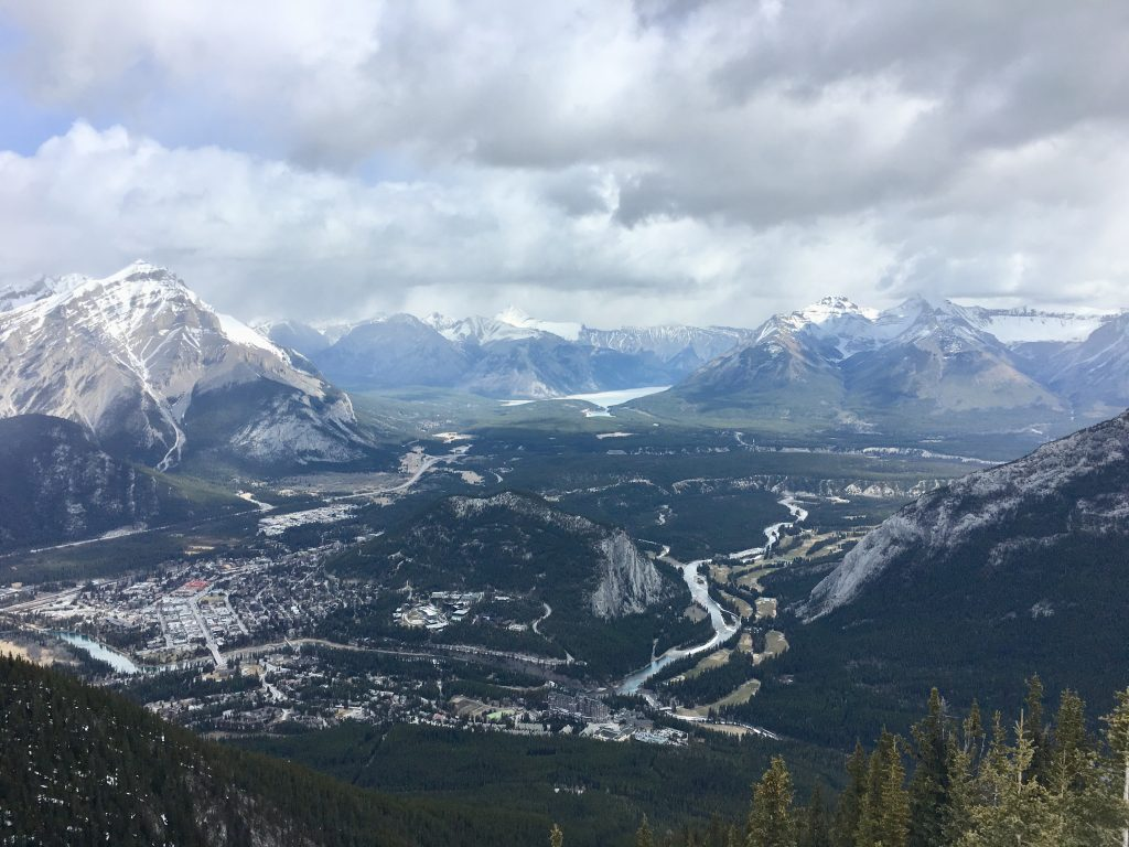 Banff Sulfur Mountain View