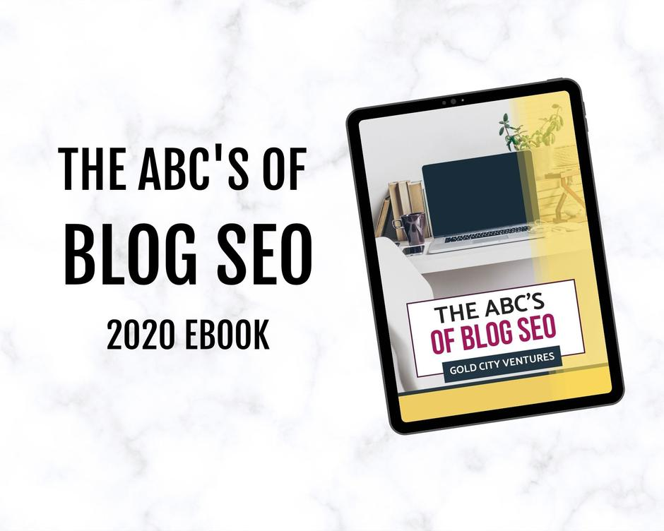 The ABCs of Blog SEO – 22 page ebook