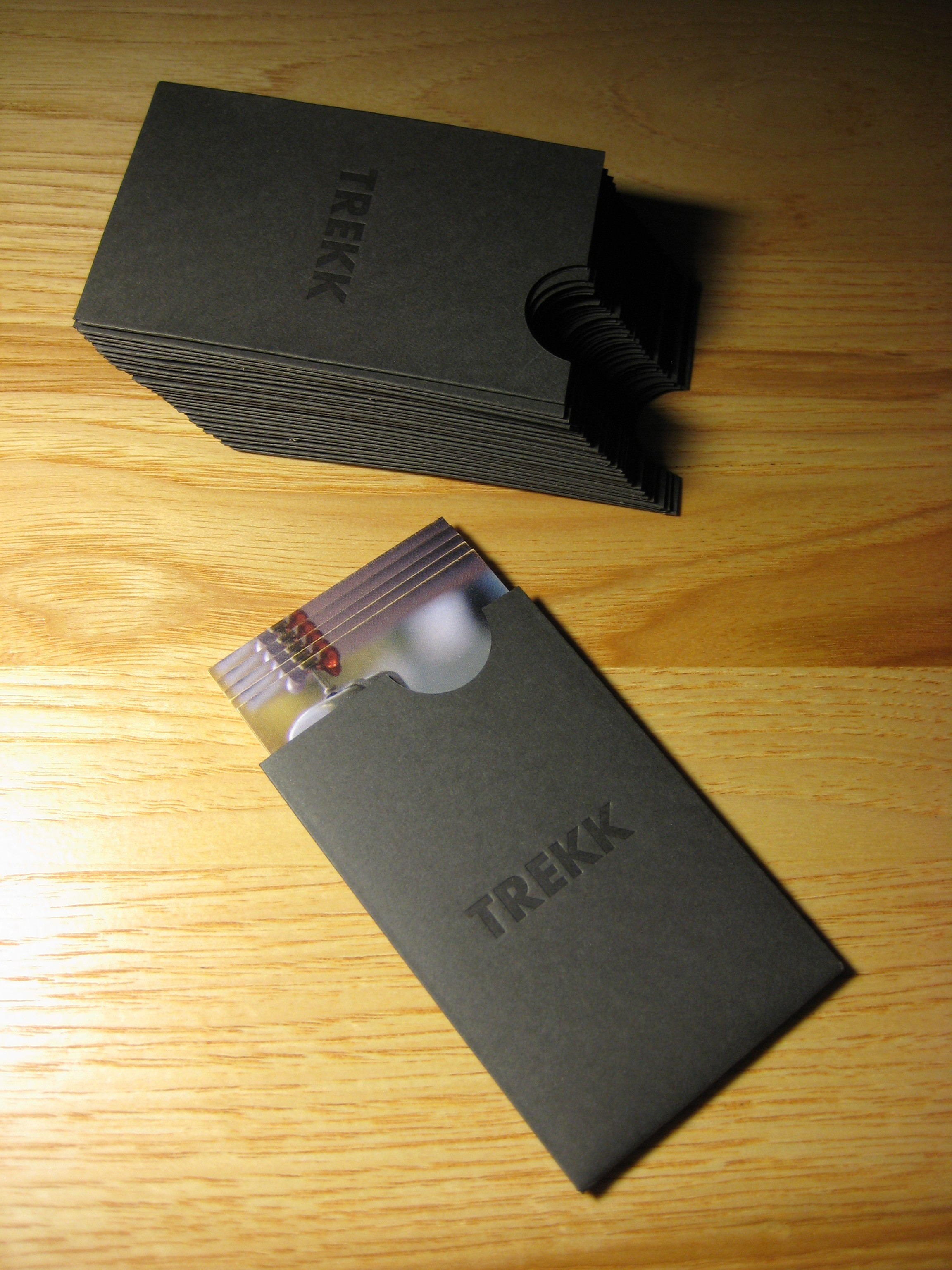 Business Card Sleeves  flywheelletterpress