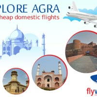 Explore Agra with cheap domestic flights