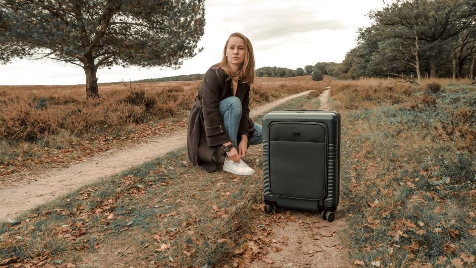 NORTVI suitcase green