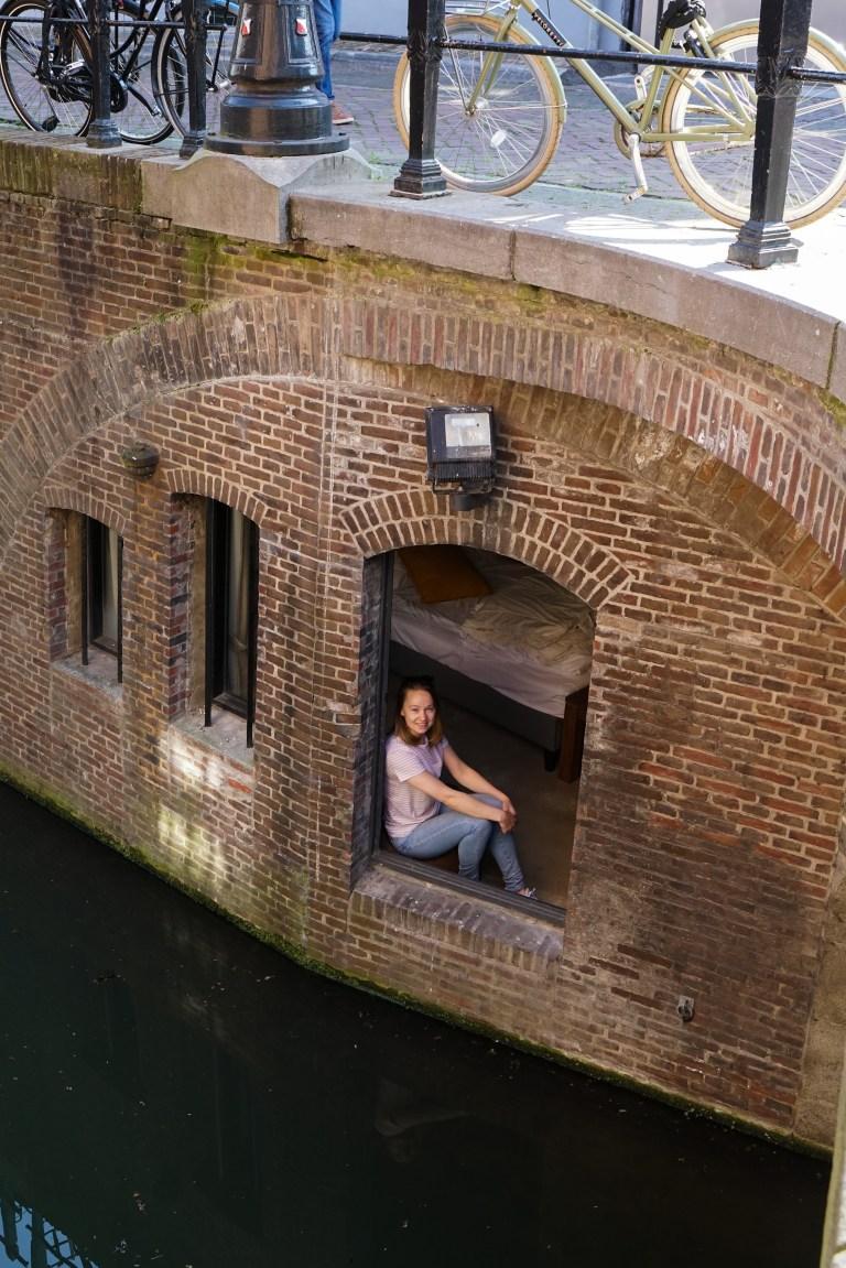 Raam erkertje Sluijmerhuis Suite