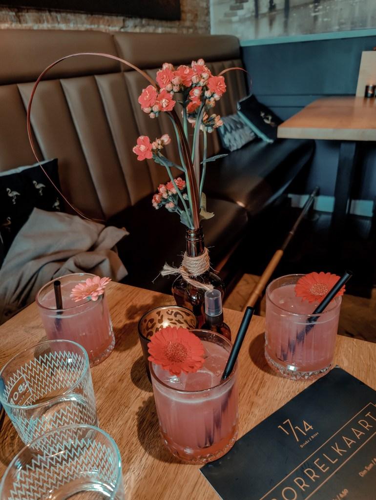 1714 rose cocktail