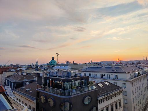 Rooftop view Vienna