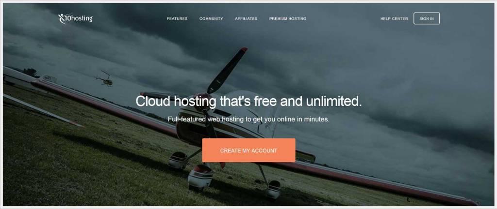 x10hosting.com - free wordpress hosting