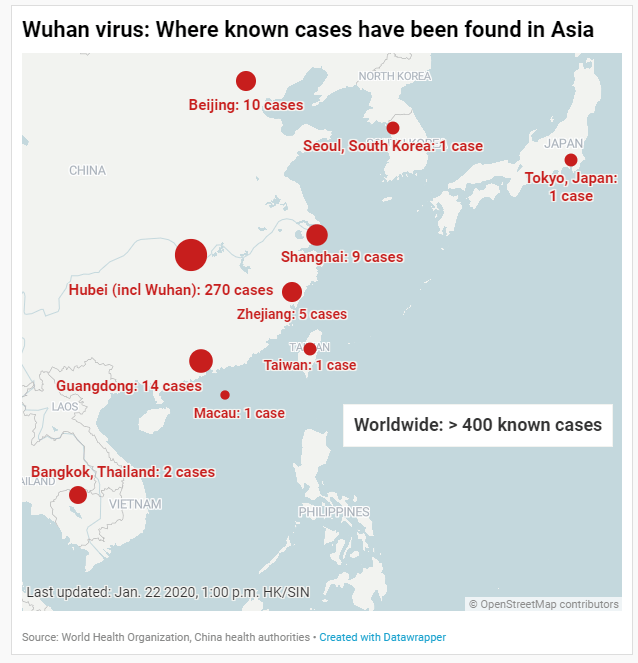 China coronavirus: What we know about the outbreak