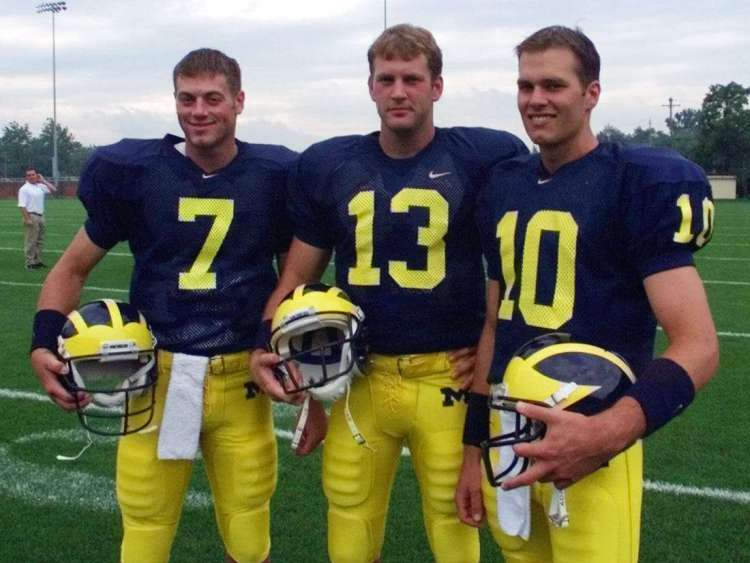 Tom Brady at University of Michigan