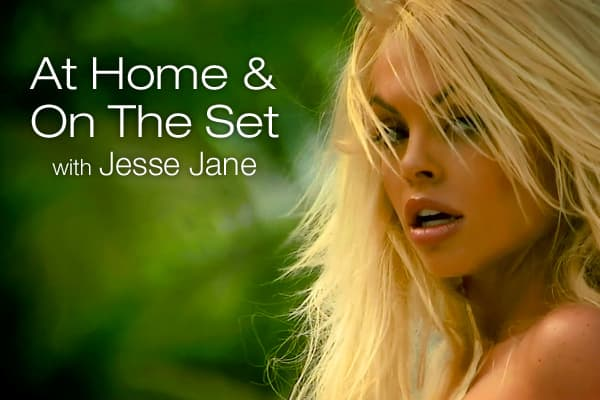 On the Set  at Home with Porn Star Jesse Jane