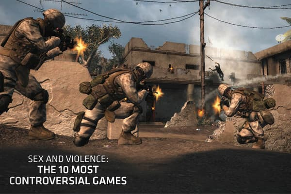 Sex and Violence The 10 Most Controversial Games