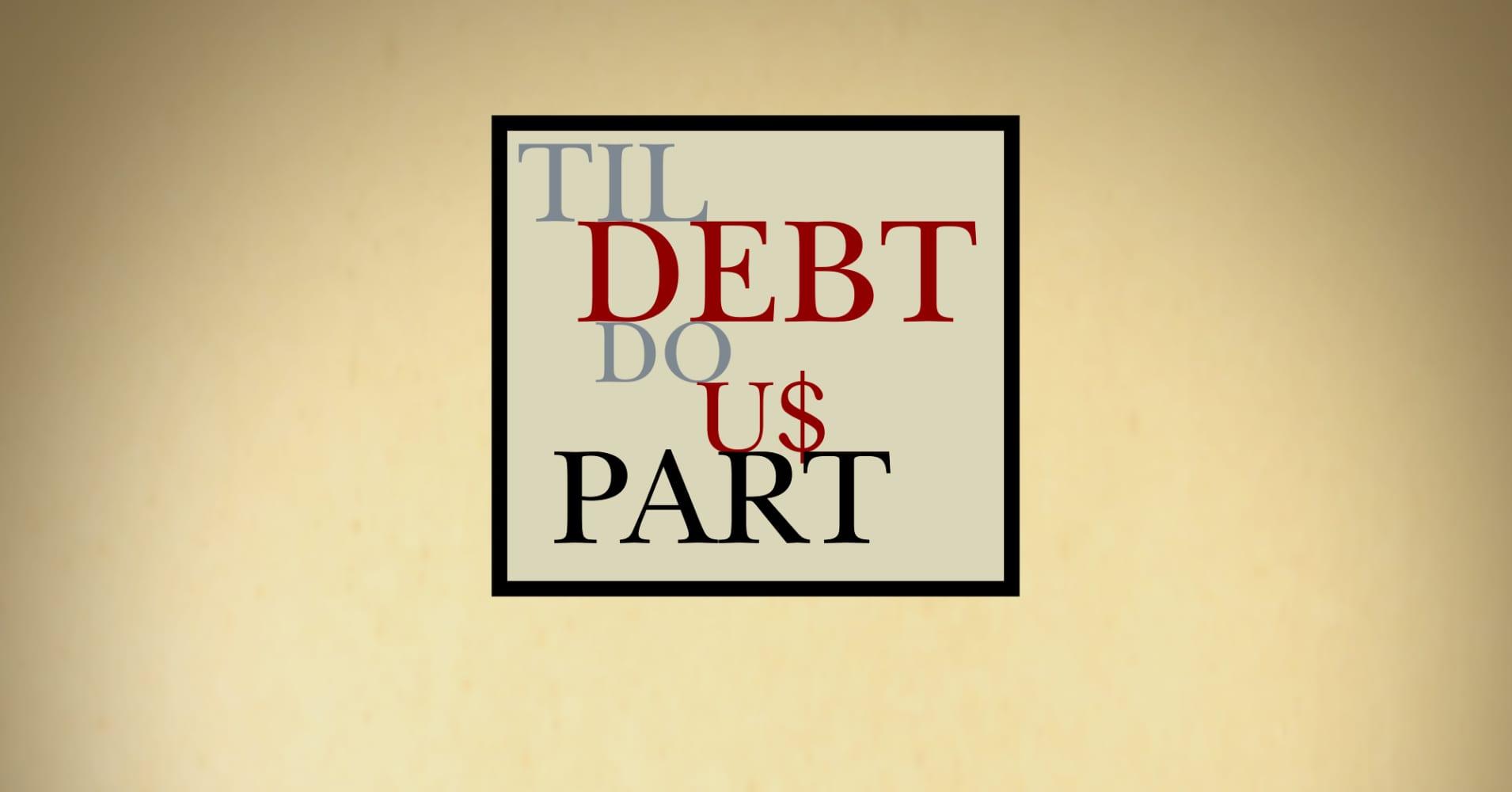 Til Debt Do Us Part Budget Worksheet