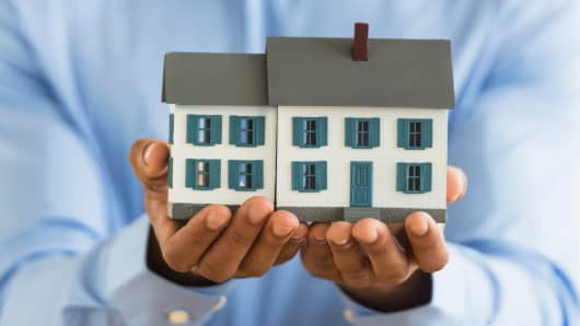 Home mortgage real estate