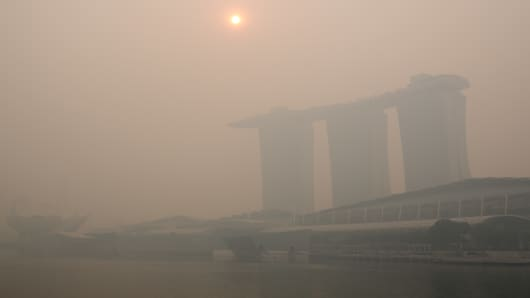 Singapore Air Pollution Hits All Time High