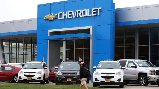 Chevy Dealerships The Face Of The Recall