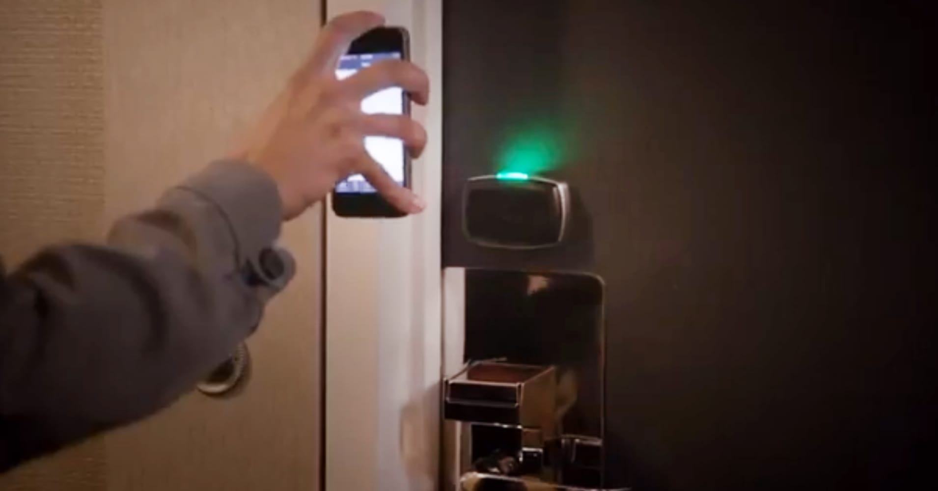 Hotels Testing Keyless Entry Via Smartphone App