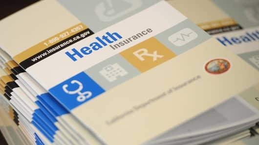 Health Care insurance options in California.