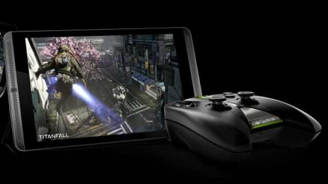 The Nvidia Shield Android tablet.