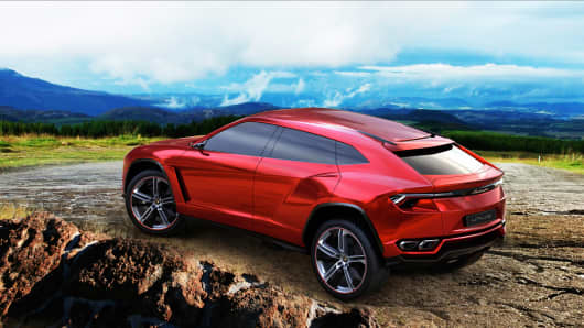 Automobili Lamborghini announces a luxury SUV as a third model to join its product range.